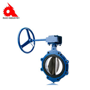 LUG TYPE VALVE / BUTTERFLY / LEVER / FOR WATER