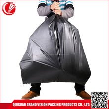 2017 custom size heavy duty big unbreakable garbage trash rubbish bags
