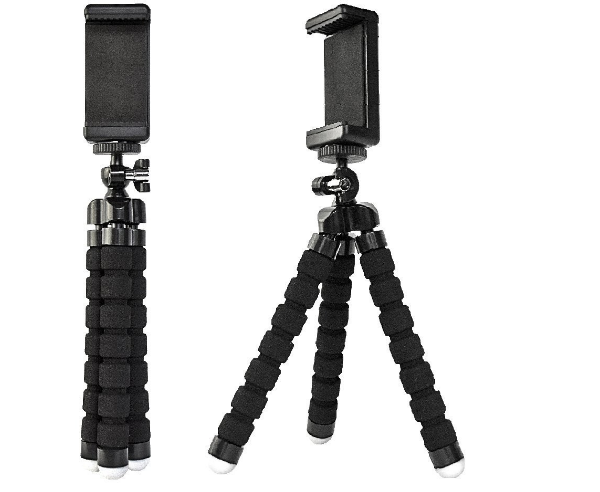 High Phone Mini Flexible Tripod With Wireless Shutter Remote