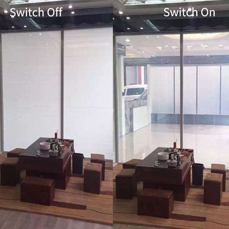 Smart Pdlc Film Switchable Magic Glass , Switchable Mirror Glass