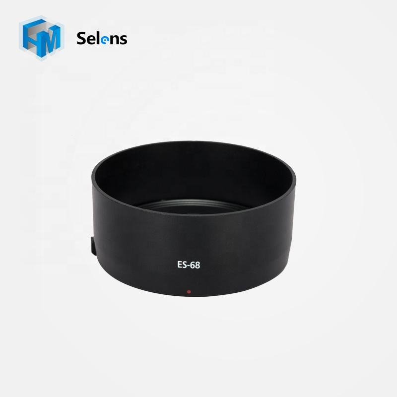 Selens New Support OEM Black ES-68 Camera Lens Hood For Canon EF 50mm f1.8 STM