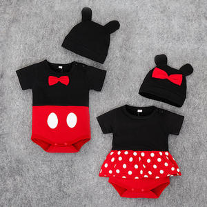 Summer plain baby romper unbranded wholesale clothing dress romper design
