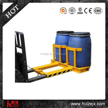 Forklift Attachments - Oil Drum Barrel Lifter Handler Clamp
