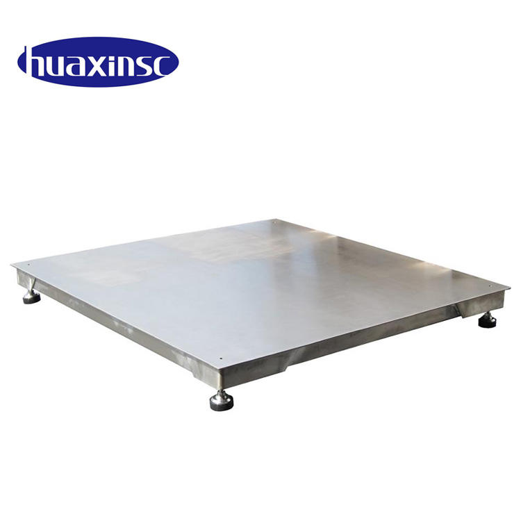 3 ton electronic digital stainless steel floor scale platform weighing scale