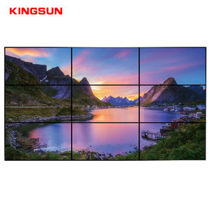 55 inç DID 3x3 lcd video duvar TV Duvar, 55 inç video duvar ekranı