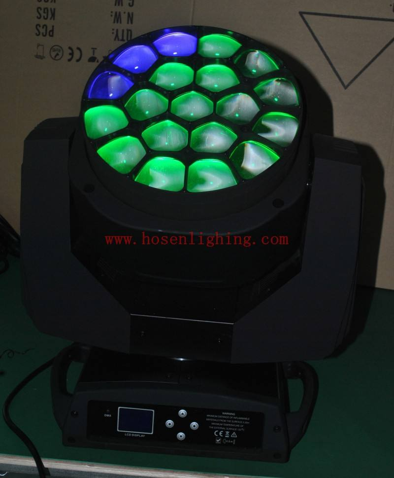New products K10 B-EYE LED moving head beam zoom Amazing effect bee-eyes19pcs x 15w