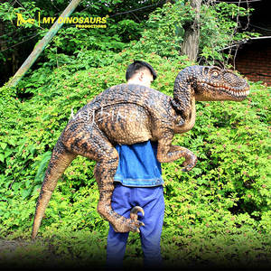 MY Dino DP034 Walking Dinosaur Puppet Rubber Costume Kids Dinosaur Costume