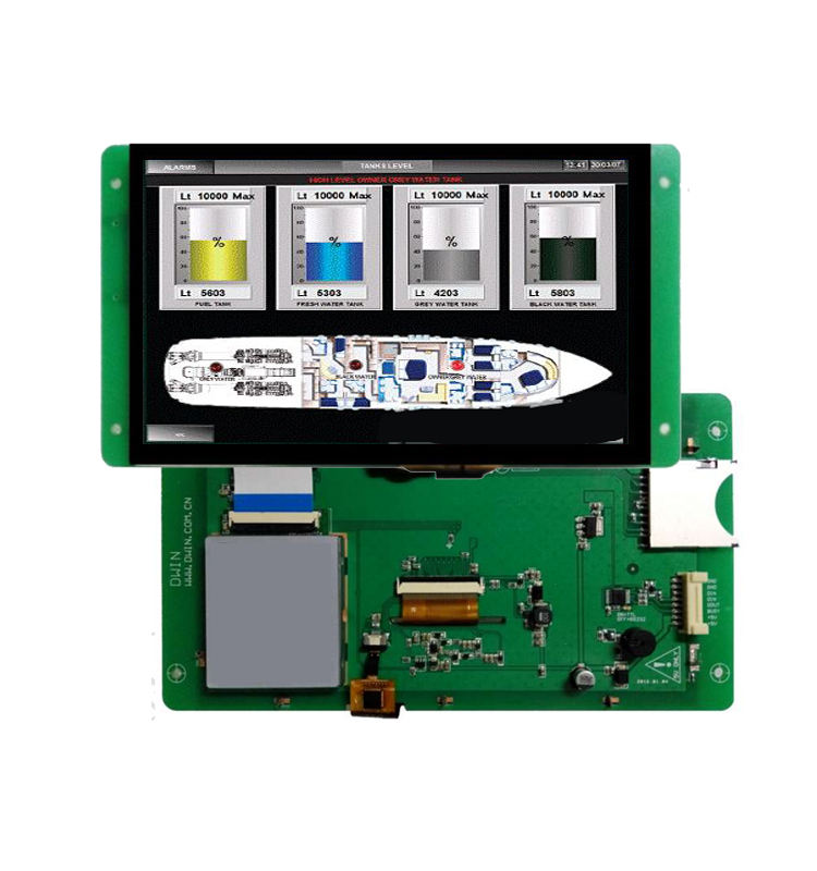 HMI PLC 10.1 inch 1024*600 with lcd touch screen