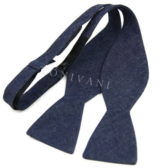 Hot Sell Fashion Mens Self Tie Bow Tie