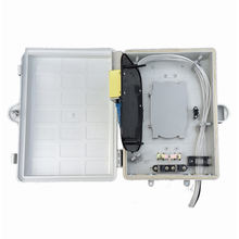 Outdoor Indoor Ip65 Plastic Waterproof Electrical Junction Box 8 Core Fiber Optic Terminal Box