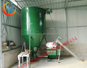 popular poultry feed mill/poultry feed mill equipment/animal feed crusher and mixer hammer mill