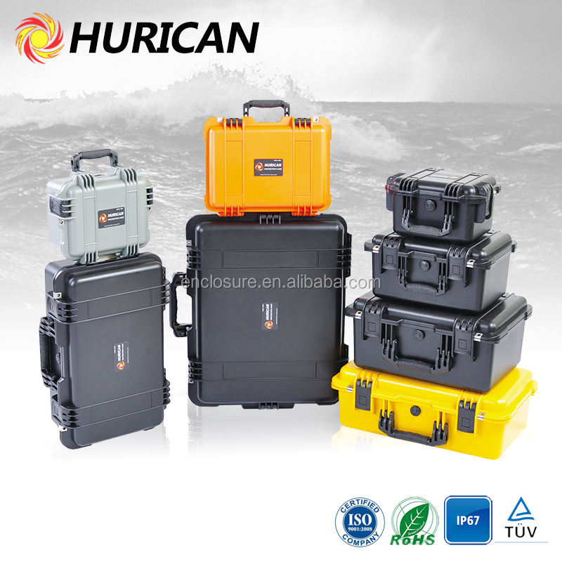 IP67 Plastic Equipment Case / Rugged Waterproof Cases / hard plastic cases wholesale