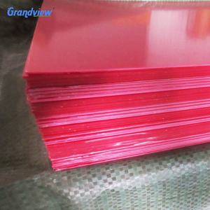 1.8-8mm thermoforming colored PMMA ABS plastic sheet