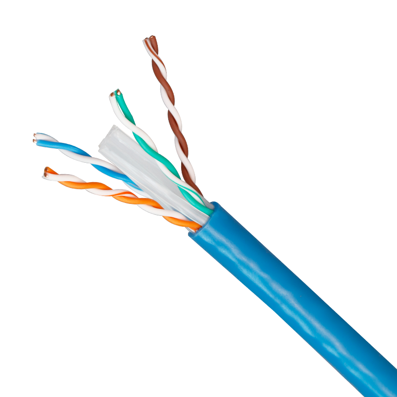 Kingmaking PVC Insulation Material and Telecommunication Application cat6 cable utp cat6 23AWG copper indoor 305M