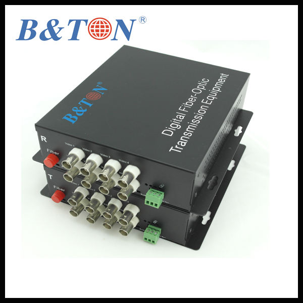 RS232 RS422 S485 8-channel video Multiplexer