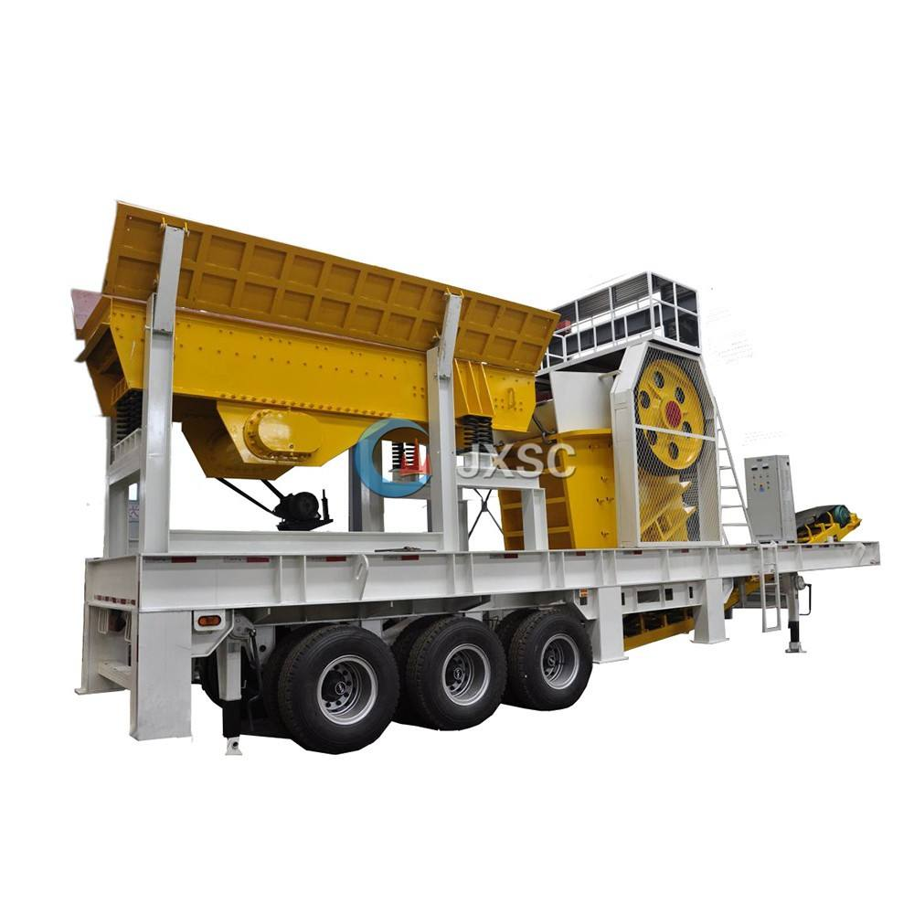 Stone Crusher Machine Price Widely Approved Jaw Crusher SGS CE ISO Quality Verified Mobile Crusher