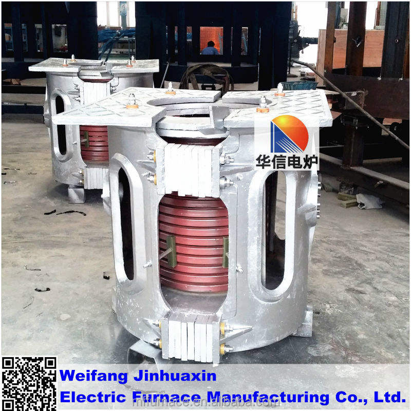 high quality electric oven for melting copper for Foundry