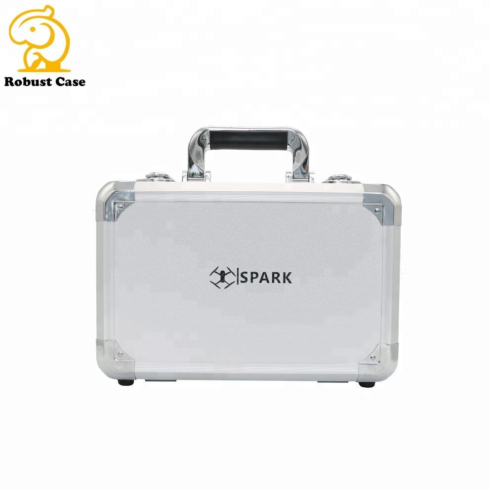 Wholesale Safety Small Aluminum Equipment Case Briefcase Aluminum Metal Hardware Carrying Tool Case