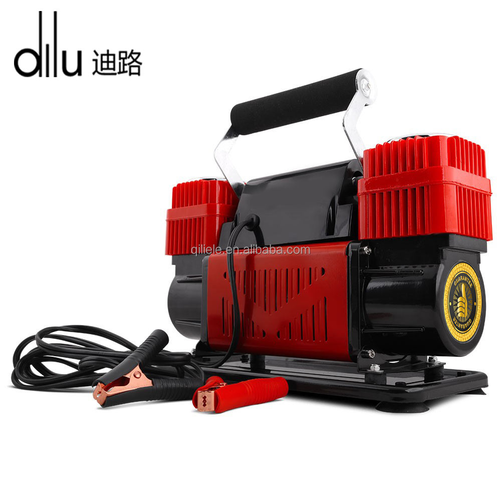 12v 300L/分Portable Air Compressor - 4 × 4 Car Tyre Inflator Deflator 4wd
