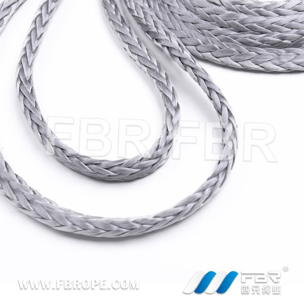 3mm Silver Dyneema SK75 12 Strand Rope x 10 Metres Free Delivery