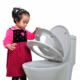 High quality European Standard UF soft close 3 pieces adult and kids toilet seat cover