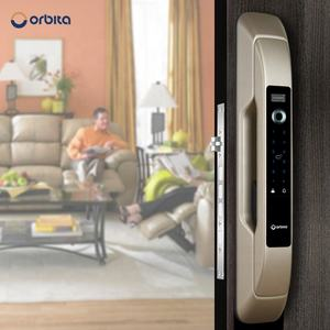 Orbita wireless smart home door lock fully automatic fingerprint security system