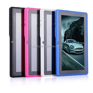Free sample hot selling Q88 tablet pc Android 4.4 google play free apps download tablet pc