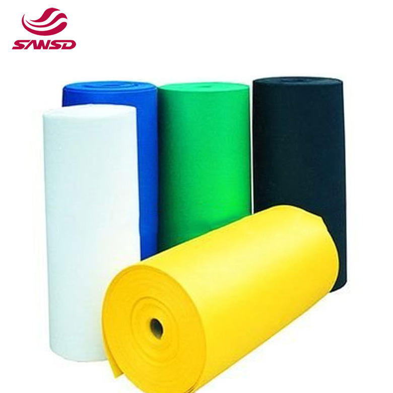 EVA/PE foam roll soft and strong Solid Black Color Universal EVA Foam Material For Shoe Manufacturing In Roll Packing