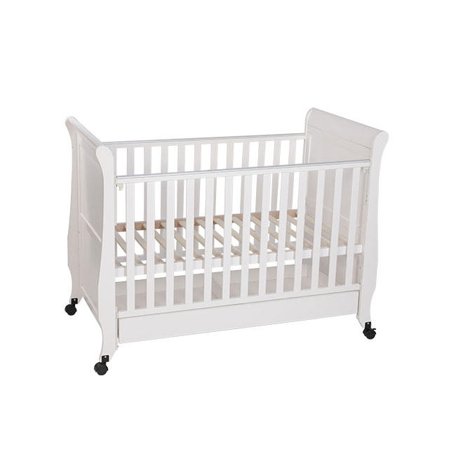 Cheap Price Solid Wood Non Toxic Varnish Color Wooden Baby Hanging Cradle/Rocker Baby