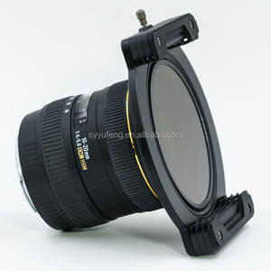 100mm Sistem kamera Aluminium persegi filter holder