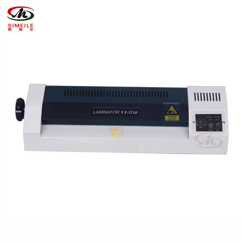 YT 3210 Factory Supply Mini Automatic Pouch Laminator A3 Machines With Emergency Knob