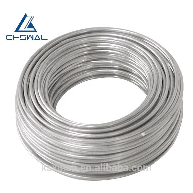 China Manufacturer 6082 6063 t5 h112 Aluminium Wire 8mm 10mm 6mm 4mm 3mm