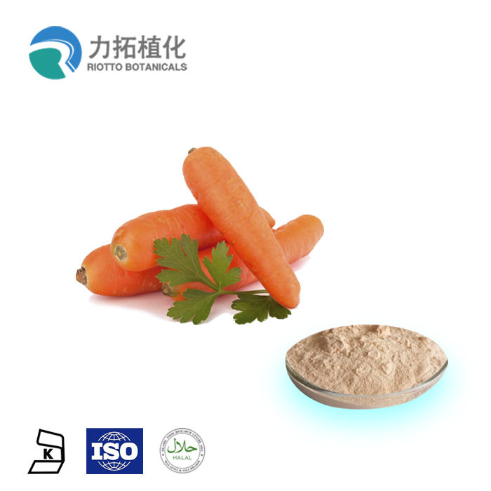 100% Natural Vitamin Supplement Beta carotene 1% Carrot Extract