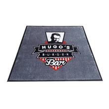 Custom Print Outdoor Non Slip Fireproof Rubber Logo Floor Mat With Low Price