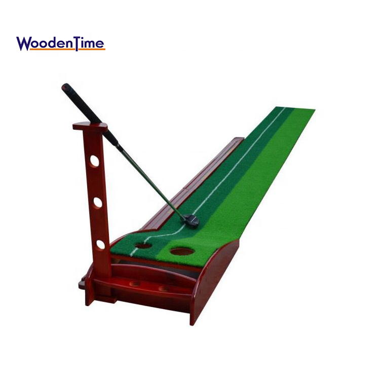 2018 Good Quality Mini Golf Putting Green Carpet Trainer,Outdoor Indoor Practice Golf Putting Green Turf