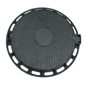 Professional cast iron manhole cover en124 b125 with CE certificate