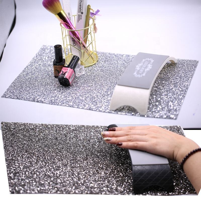 Nail Tools Nail Art Table Mat Rhinestone Pad Folding Hands Rest Manicure Cushion Tool