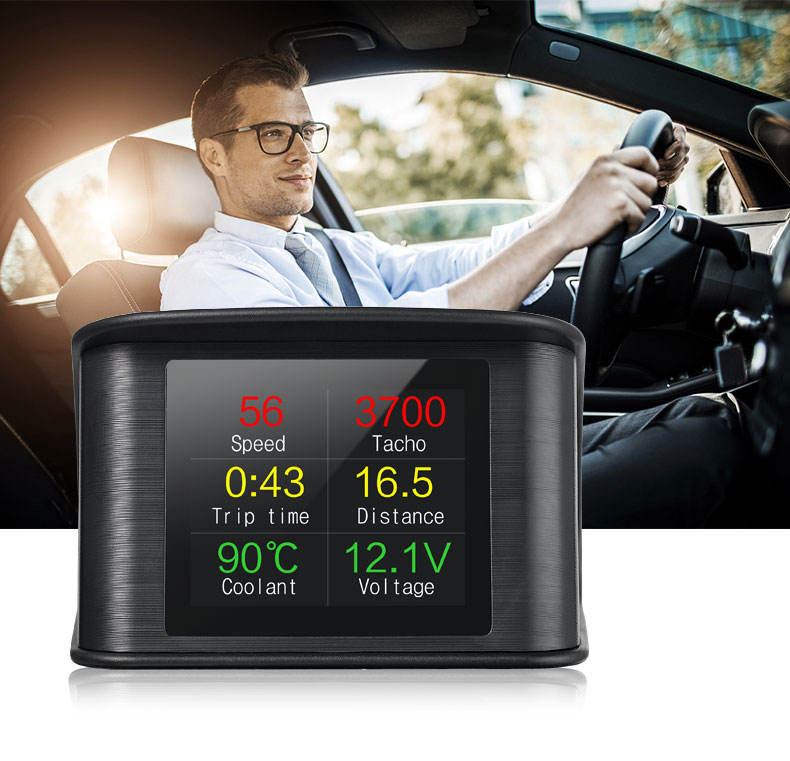 Hot Selling Vehicle Tools Diagnostic Multi-Function OBD Trip Computer For Car