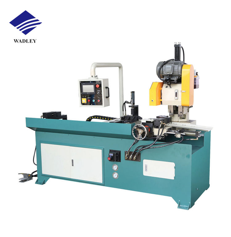 High accuracy automatic CNC circular saw pipe cutting machine