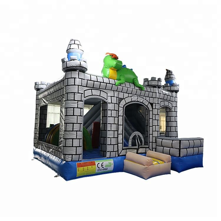 Commercial Inflatable Toys Air Jumping Castle Inflatable Dinosaur Bouncy Castle inflatable bounce with slide for sale