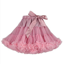 DanyiBallet Princess Red Children Cheap Dance Ballet Tutu Dress Pettiskirt For Girls Party