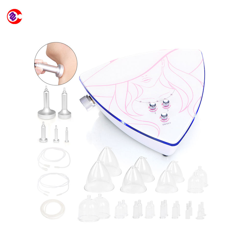 New type breast enhancer body massage relax vacuum therapy butt enhancement machine