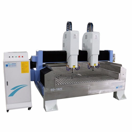 marble cutting machine/stone engraving machine cnc milling machine/double-spindle stone cnc router