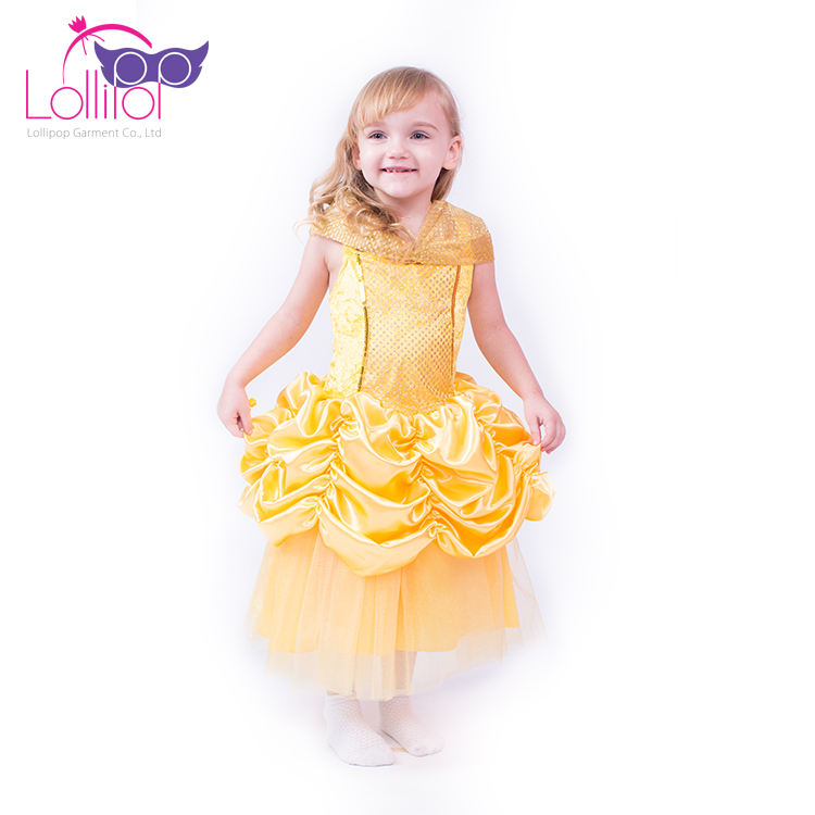 En gros enfants carnaval costume party filles belle princesse cosplay robe déguisement costume