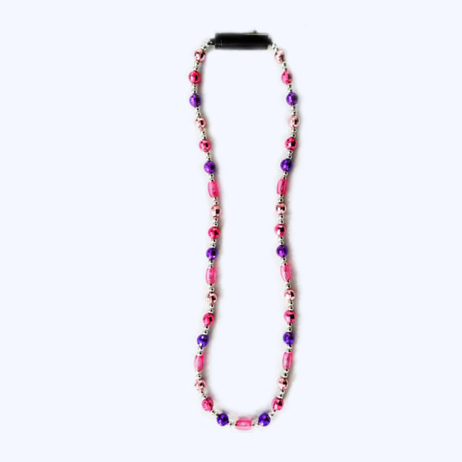 Girls Party Hot Selling Multi Colors Led Beads Necklace