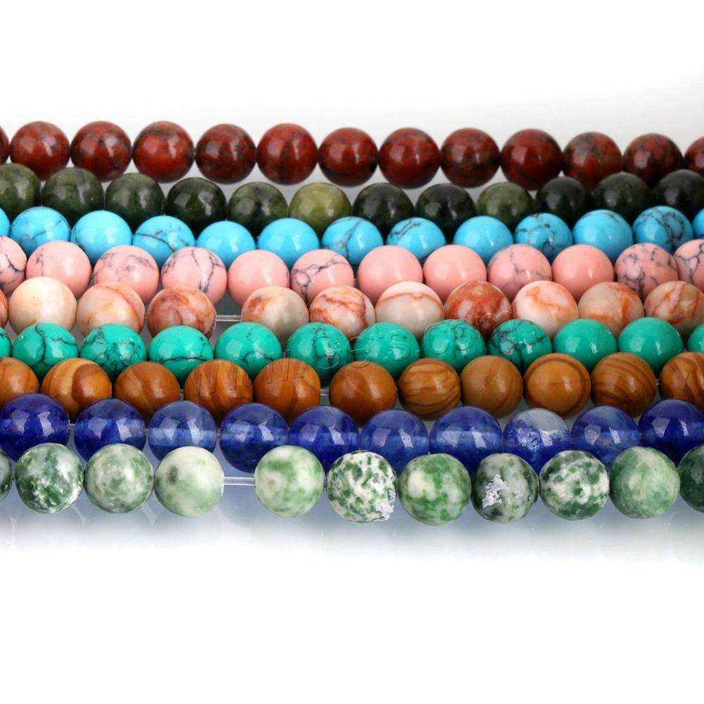 China guangzhou factory gemstone precious stone beads jewelry making bulk bead with top quality 1197731