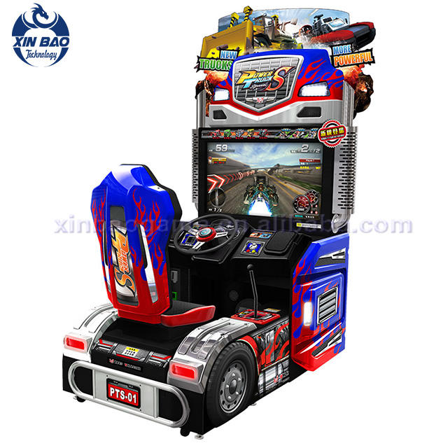 2 Players Coin Operated Car Racing Simulator Game Machine Games Free Download (MN004)