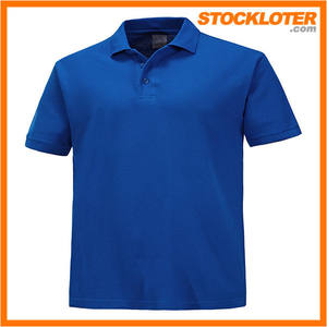 Mens Polo Shirts Closeout Garment Stock Directly From China