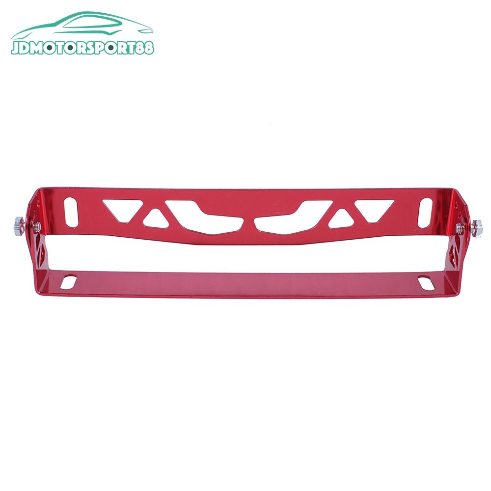 JDMotorsport88 Aluminum Auto Number License Plate Holder For Japanese Car