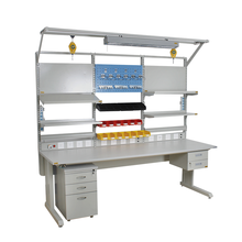 (TOFOO) Adjustable ESD Worktable with CE certification/electronic technician workbench/computer repair workbench
